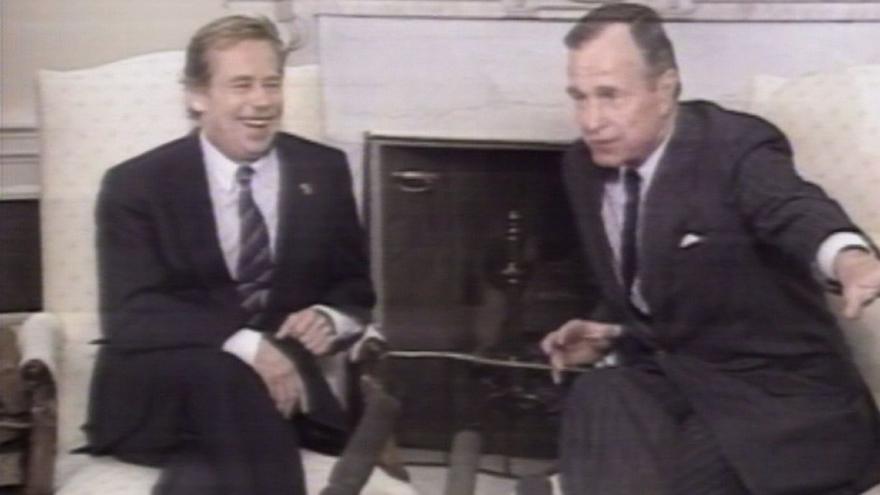 Video Američtí Valaši zdraví prezidenta Havla
