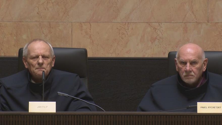 Video Rozhodnutí Ústavního soudu ve věci zákona o střetu zájmů