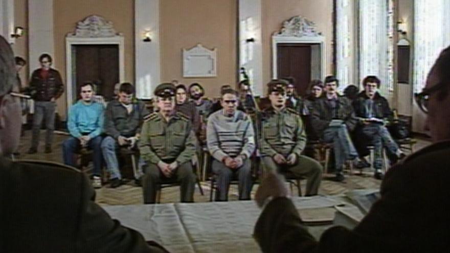 Video Soud s nadporučíkem Oudránem