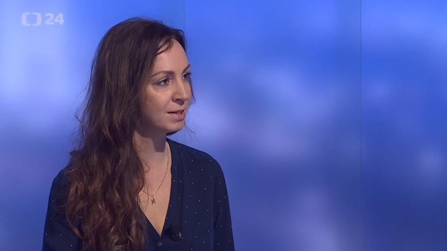 Video Události, komentáře: Rozhovor s Lucií Staňkovou