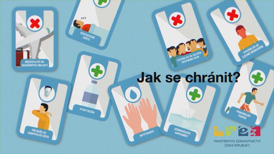 Video Informační video ministerstva zdravotnictví ke koronaviru