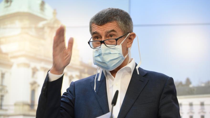 Video Premiér Andrej Babiš k vývoji pandemie v Česku z 18. září