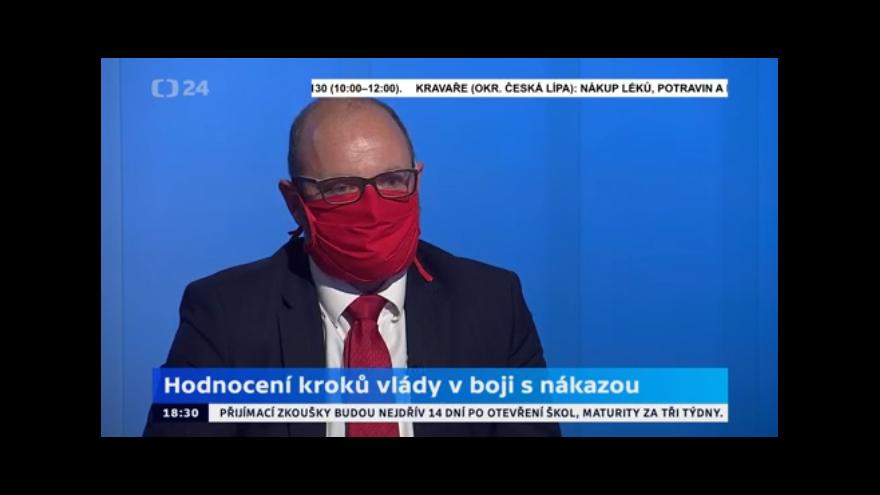 Video Interview ČT24: Rozhovor s Robertem Plagou