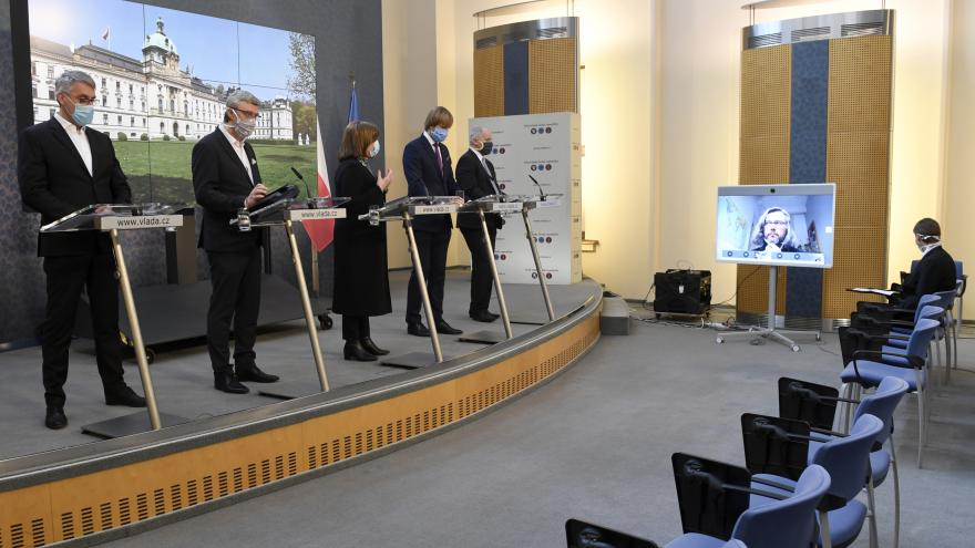 Video Čtvrteční tisková konference po mimořádném jednání vlády