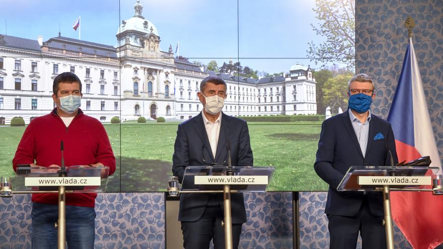 Video Pondělní brífink po jednání vlády