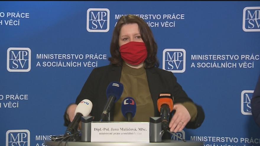 Video TK Ministerstva práce a sociálních věcí k programu Antivirus 6. dubna