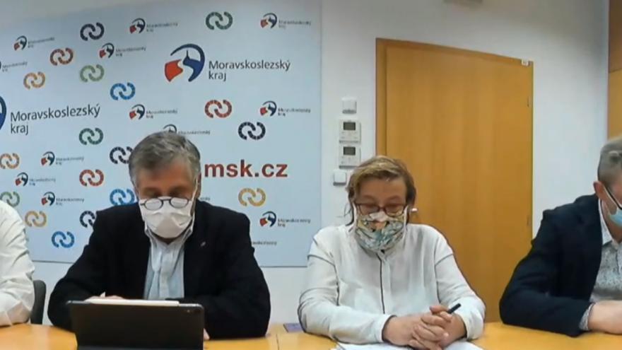 Video Brífink krizového štábu Moravskoslezského kraje
