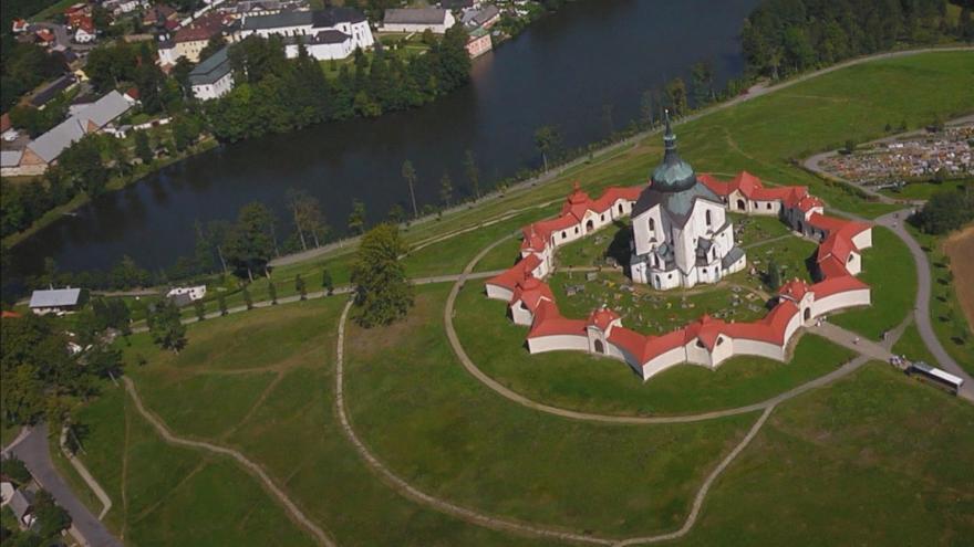 Video Památka UNESCO pod lešením. Opravuje se kostel na Zelené hoře