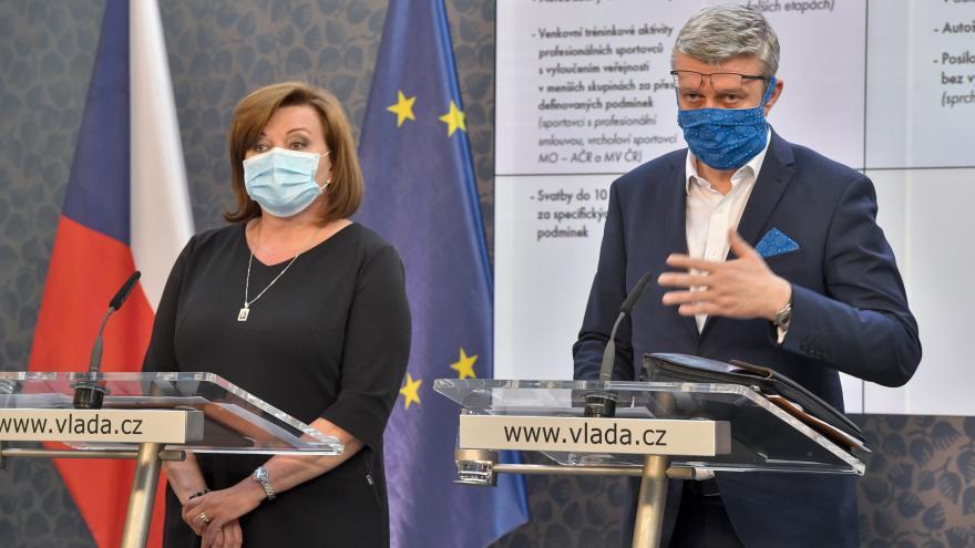 Video Brífink po jednání vlády 14. dubna