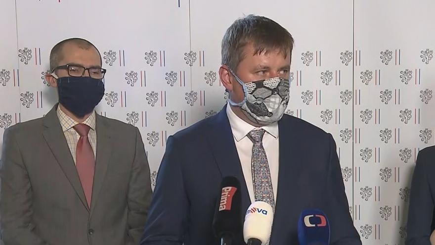 Video Tisková konference ministra zahraničí Tomáše Petříčka 15. dubna