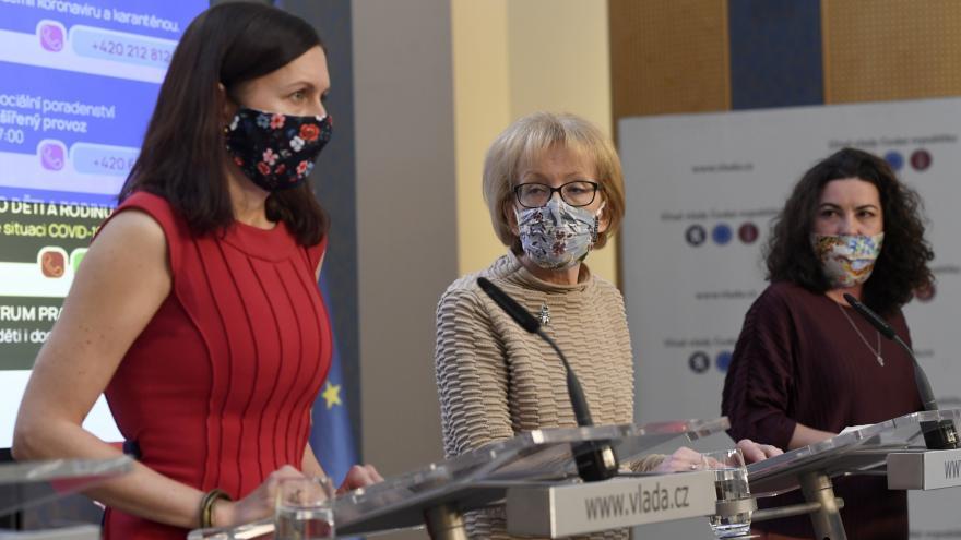 Video Brífink Heleny Válkové k problematice domácího násilí v době pandemie