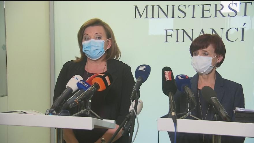 Video Brífink Ministerstva financí 17. dubna