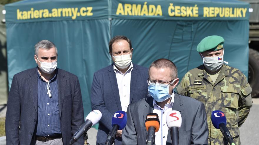Video Brífink Fakultní nemocnice Brno 22. dubna