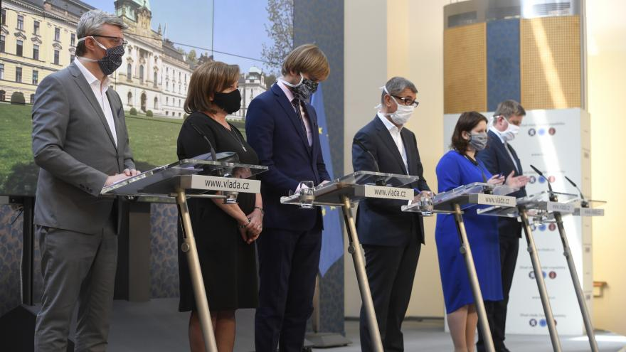 Video Brífink po jednání vlády 24. dubna