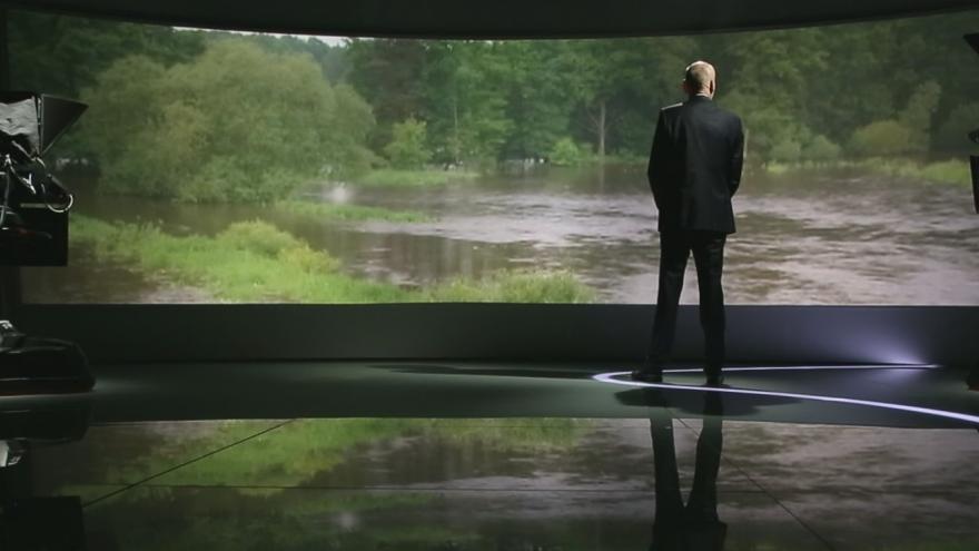 Video 15 let ČT24: Povodně 2013