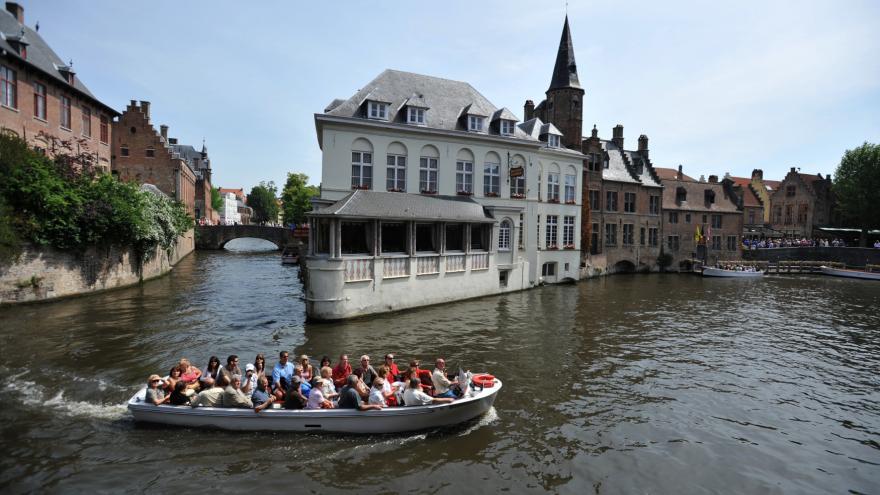 Video Události ČT: Belgické město Bruggy přišlo o turisty a strádá