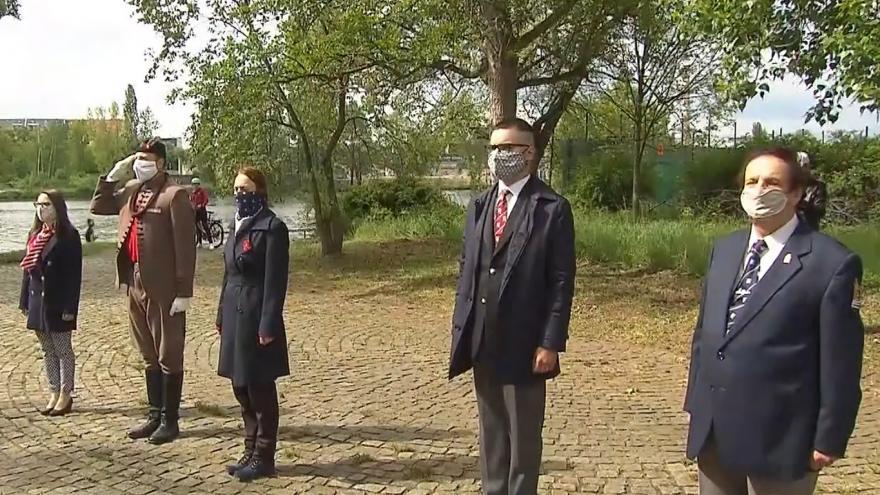 Video Pietní akt k 75. výročí Pražského povstání a konce 2. světové války v Praze 5. května