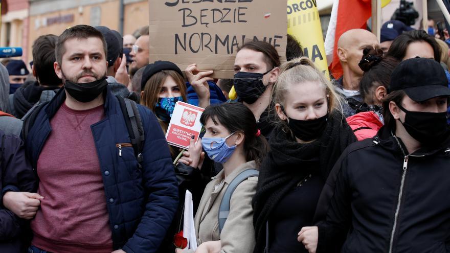 Video Události: Podnikatelské protesty ve Varšavě