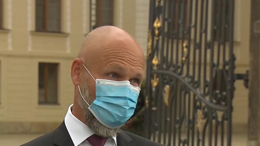 Video Brífink nového předsedy Nejvyššího soudu Petra Angyalossyho