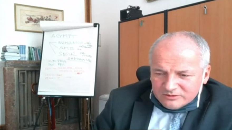 Video Online tisková konference o bezpečnosti na pracovištích v době koronaviru