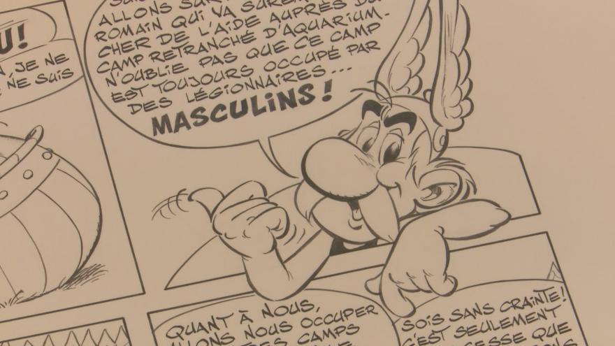 Video Asterix podporuje francouzské zdravotníky. Jak morálně, tak finančně