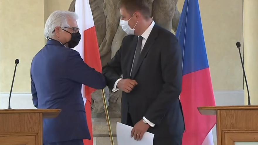 Video Brífink po jednání ministra zahraničí Tomáše Petříčka s polským protějškem