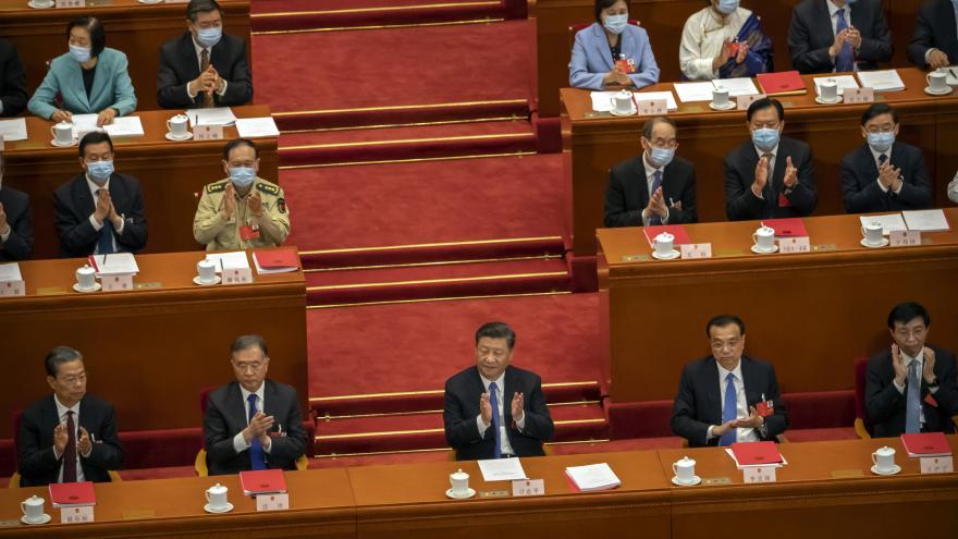 Video Události ČT: Čínský parlament podpořil bezpečnostní zákon pro Hongkong
