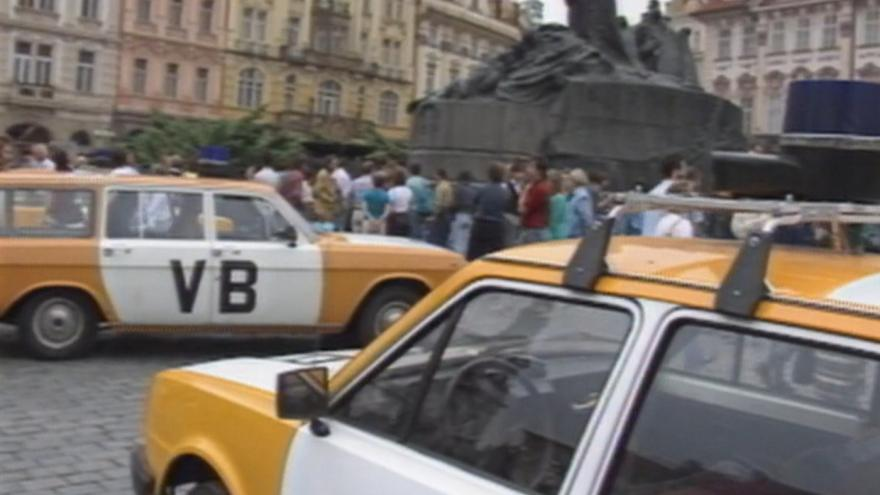 Video Výbuch na staroměstském náměstí