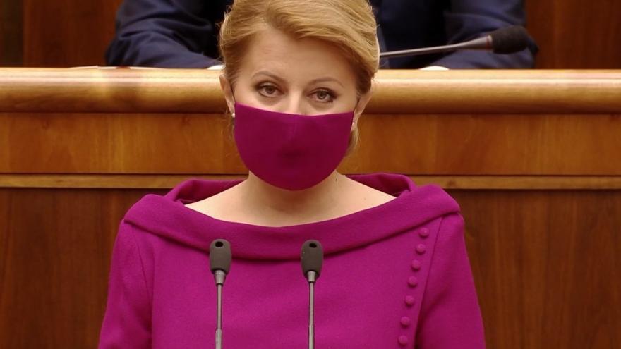 Video Projev slovenské prezidentky Zuzany Čaputové o stavu země