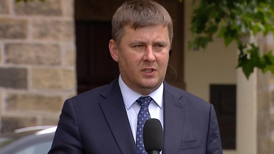 Video Ministr zahraničních věcí Tomáš Petříček ve Studiu ČT24