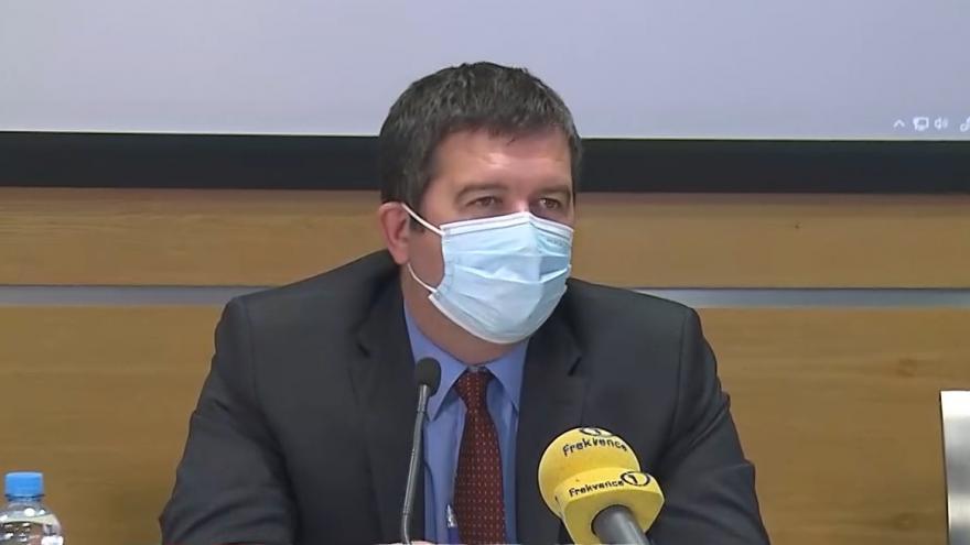 Video Brífink ministra vnitra Jana Hamáčka k novele ústavního zákona o bezpečnosti