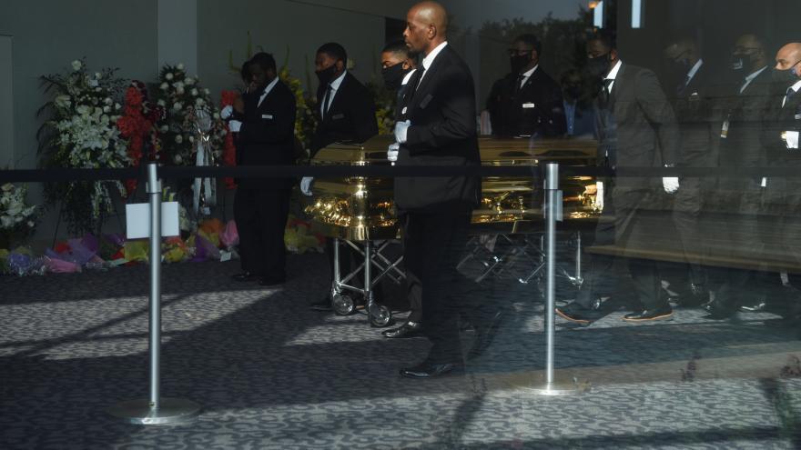 Video Události: Pohřeb George Floyda