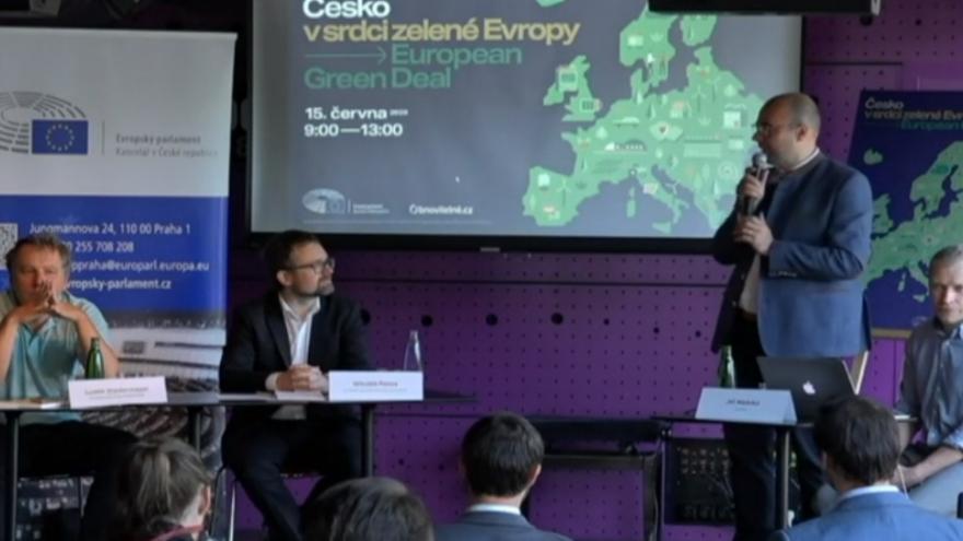 Video Kulatý stůl na téma Česko v srdci zelené Evropy