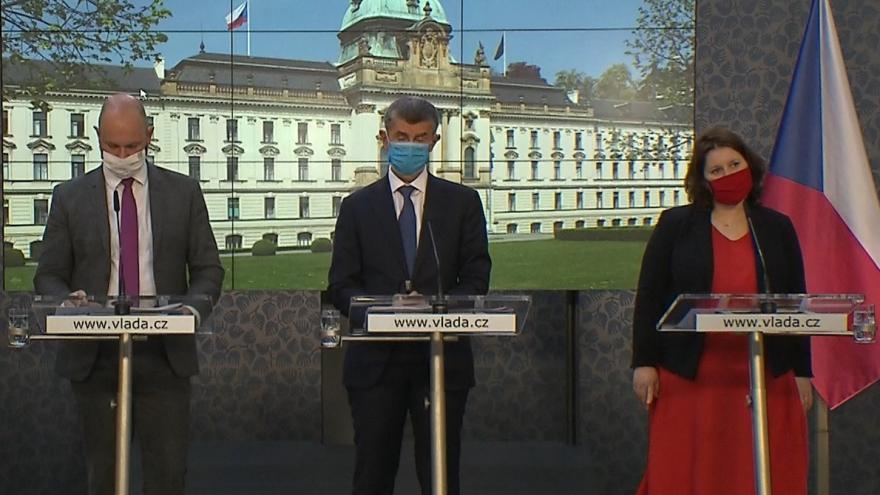 Video Brífink po jednání vlády 15. červen