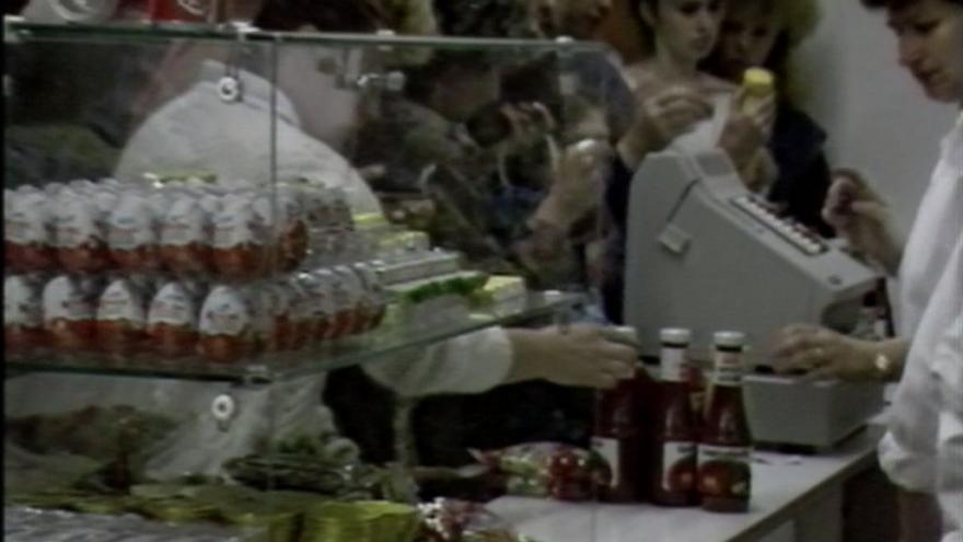 Video Potraviny, nedostatkové zboží