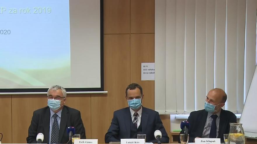 Video Brífink České inspekce životního prostředí ze 17. června