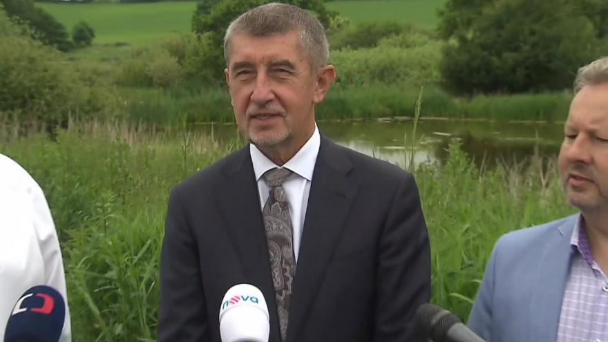 Video Tisková konference Andreje Babiše o opatřeních proti suchu