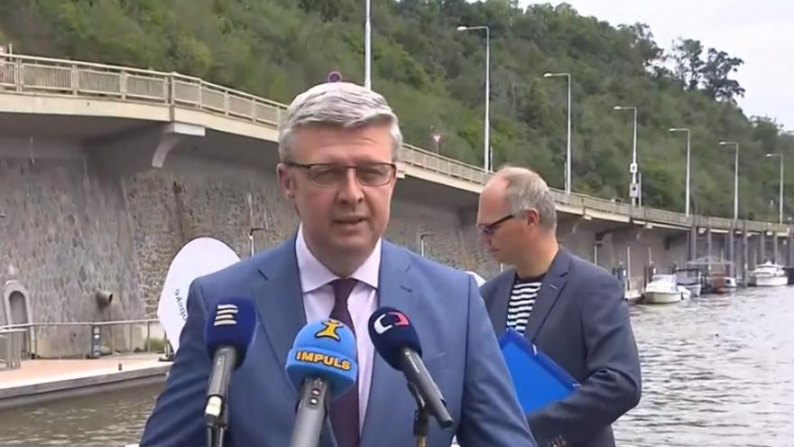Video Tisková konference Karla Havlíčka o rozvoji vodních cest v ČR