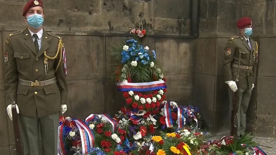 Video Pietní vzpomínka k 78. výročí atentátu na Reinharda Heydricha a boje československých parašutistů