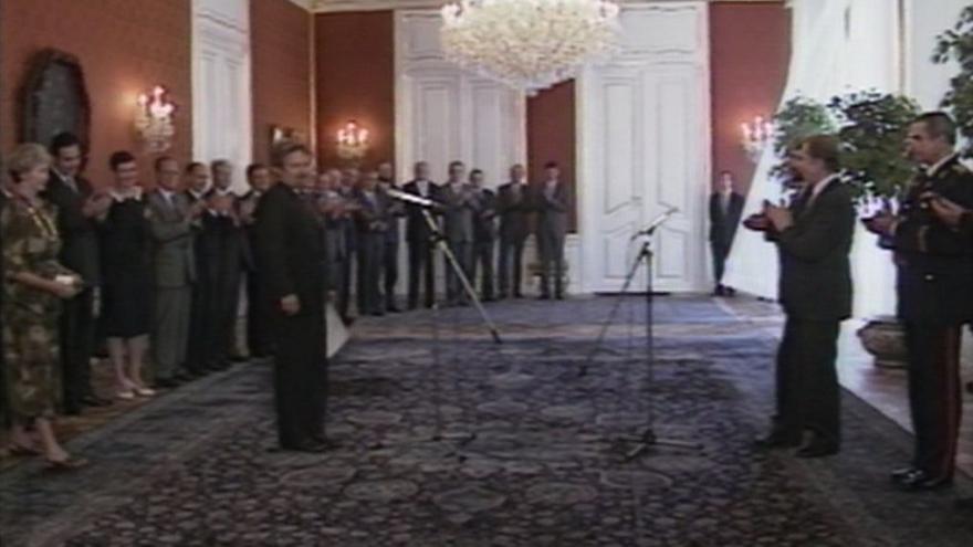 Video Národní vlády v novém složení