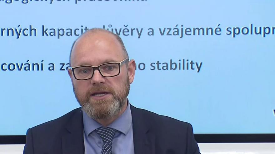 Video Online brífink ministra školství Roberta Plagy k tématu Strategie 2030+