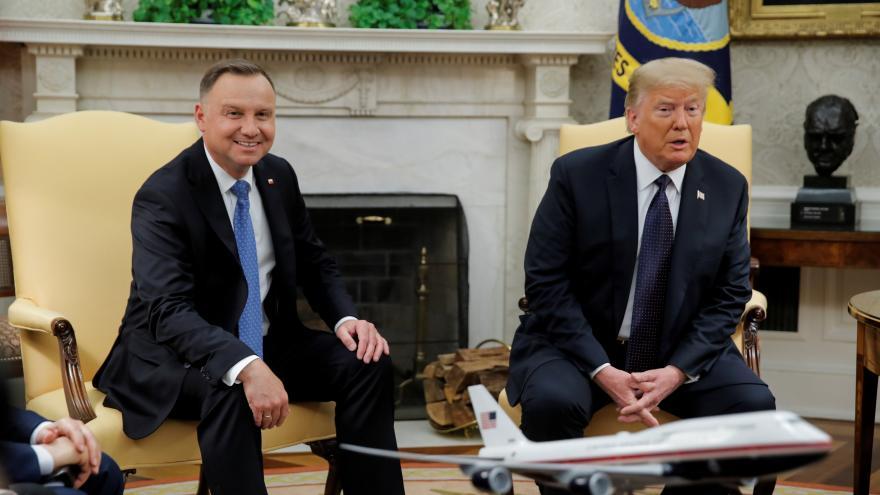 Video Události: Polský prezident v USA