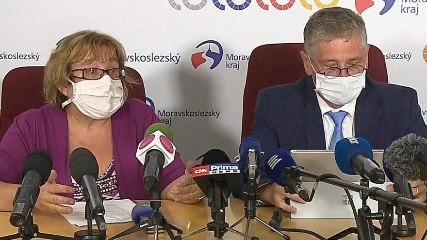 Video Jednání krizového štábu Moravskoslezského kraje