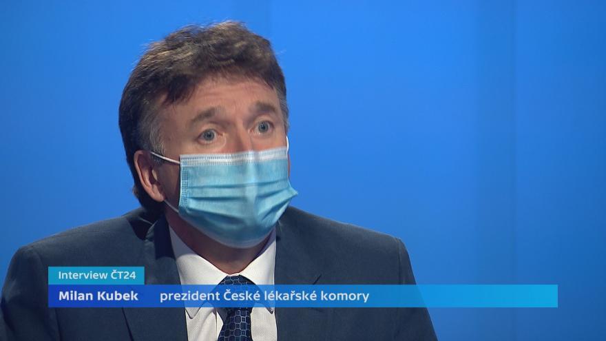 Video Interview ČT24 s Milanem Kubkem