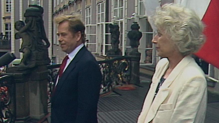 Video Vítězná řeč Václava Havla po znovuzvolení prezidentem (1990)