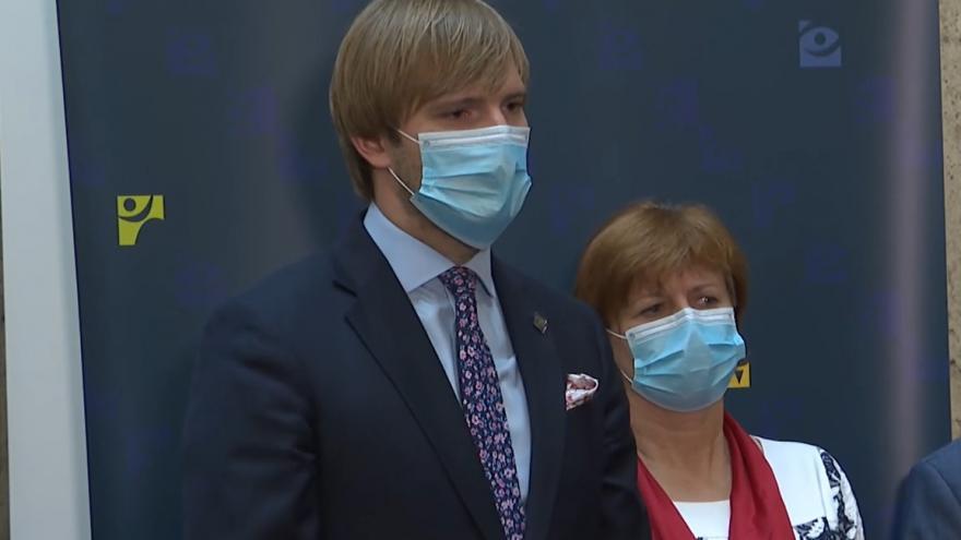 Video Brífink ministerstva zdravotnictví 7. července