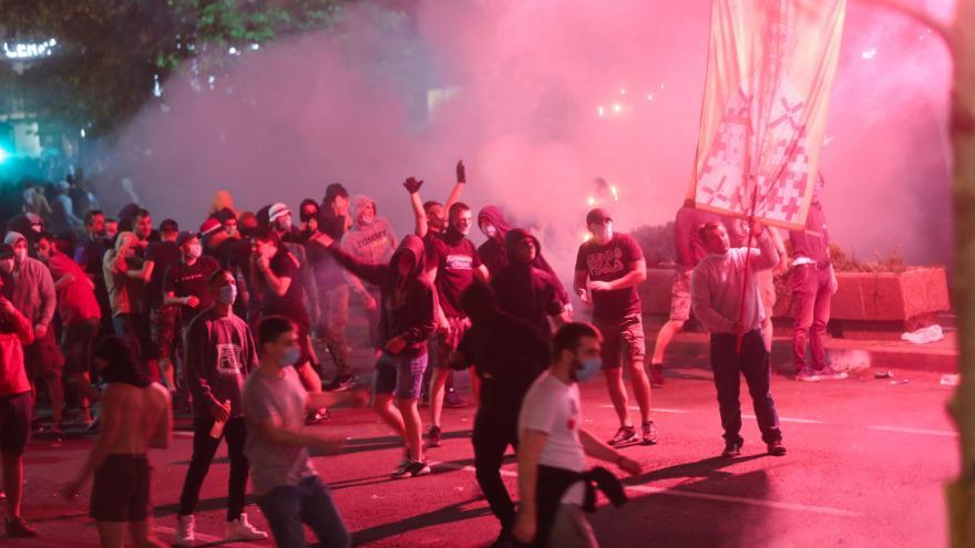 Video Události: Srbské protesty