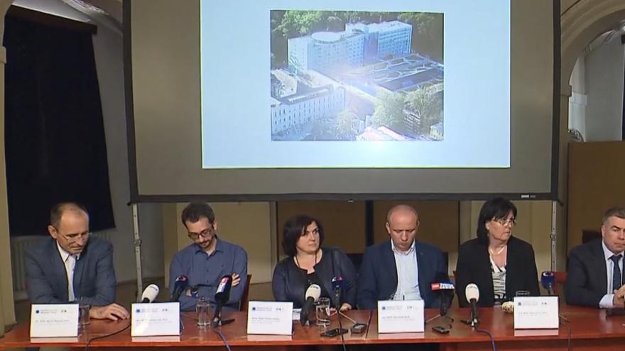 Video Brífink Všeobecné fakultní nemocnice ke vzniku center sportovní kardiologie