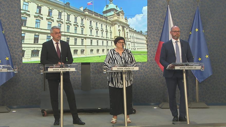 Video Brífink po jednání vlády 13. července