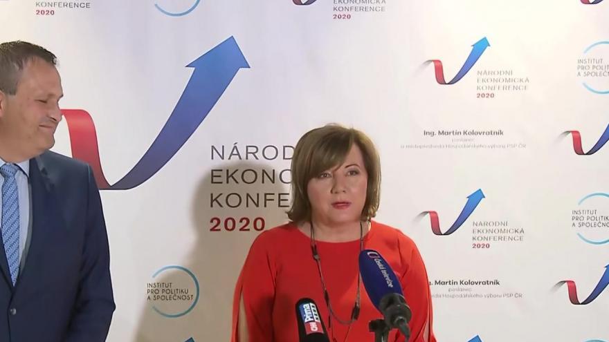 Video Tisková konference po Národní ekonomické konferenci 2020